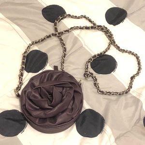 Handbags - Purple Rose Mini Cross body Purse